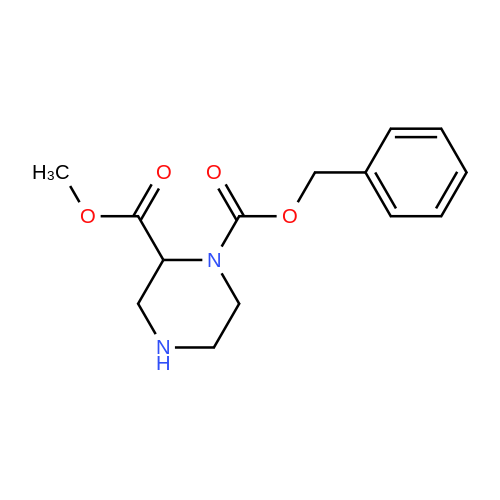 1-Benzyl 2-methyl piperazine-1,2-dicarboxylate