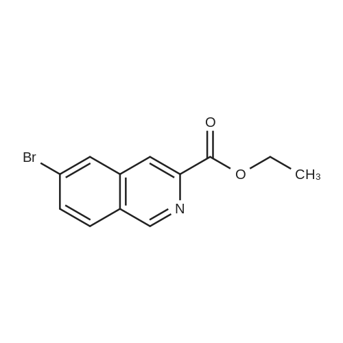 Ethyl 6-bromoisoquinoline-3-carboxylate