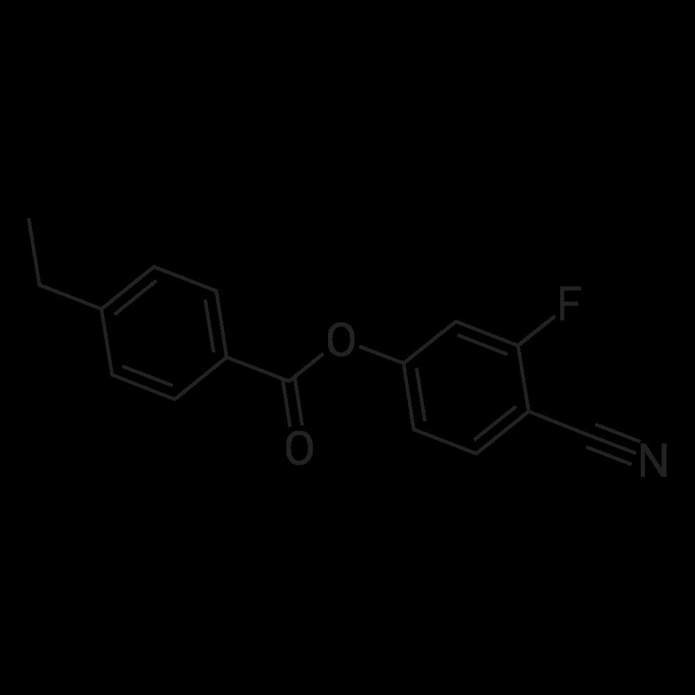 4-Cyano-3-fluorophenyl 4-ethylbenzoate