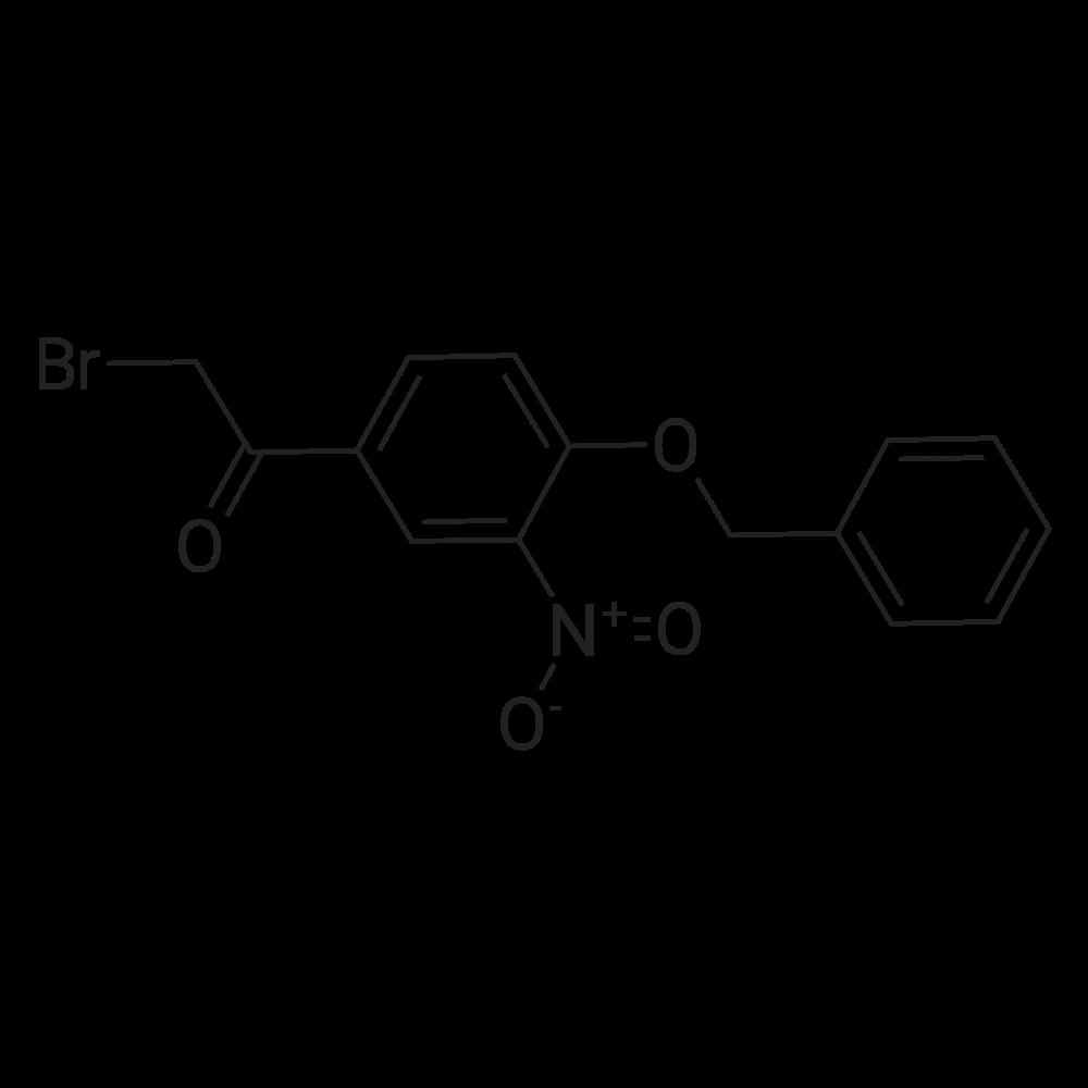 1-(4-(Benzyloxy)-3-nitrophenyl)-2-bromoethanone
