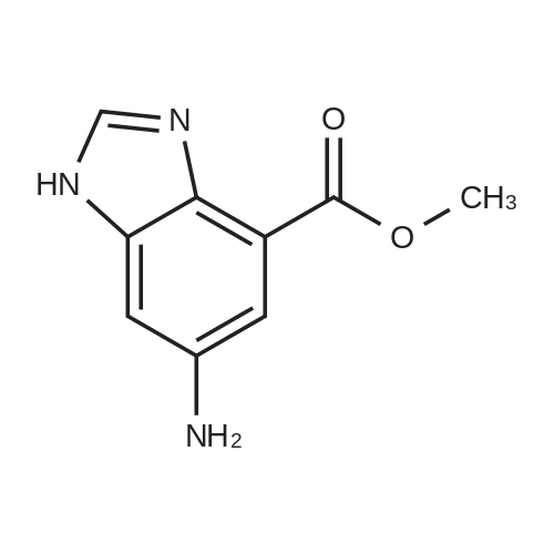 Methyl 6-amino-1H-benzo[d]imidazole-4-carboxylate