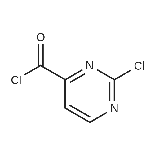 2-Chloropyrimidine-4-carbonyl chloride