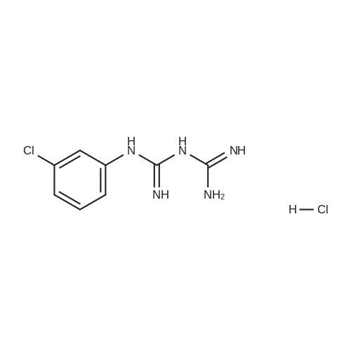 m-Chlorophenylbiguanide HCl