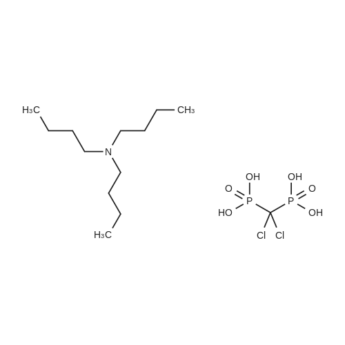 Tributylamine (dichloromethylene)bis(phosphonate)