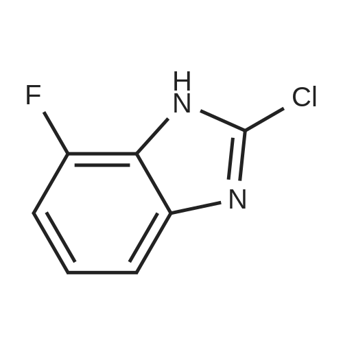 2-Chloro-7-fluoro-1H-benzo[d]imidazole