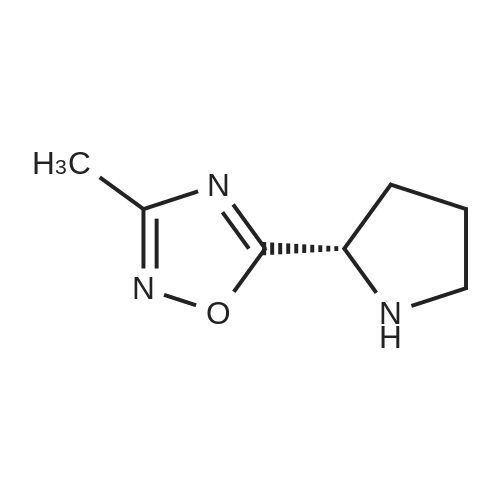 (S)-3-METHYL-5-(2-PYRROLIDINYL)-1,2,4-OXADIAZOLE