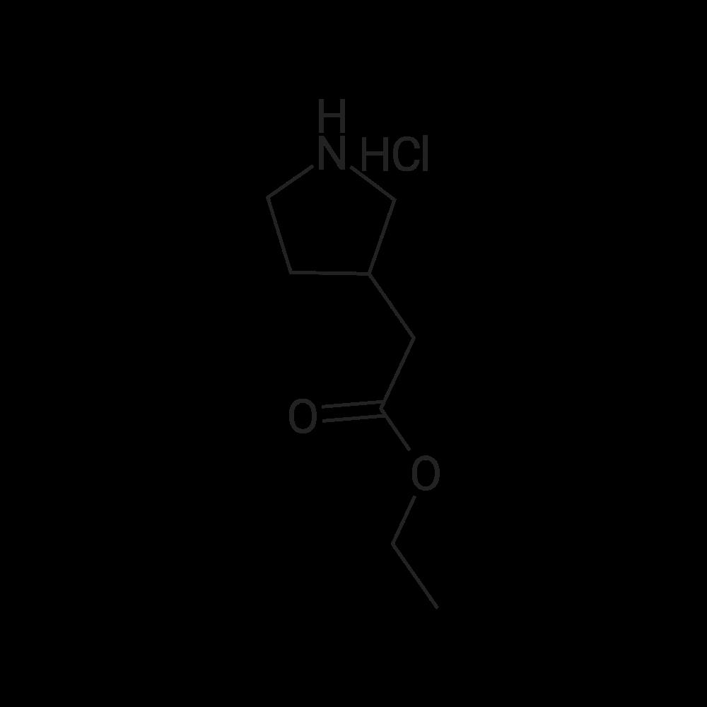 Ethyl 2-(pyrrolidin-3-yl)acetate hydrochloride