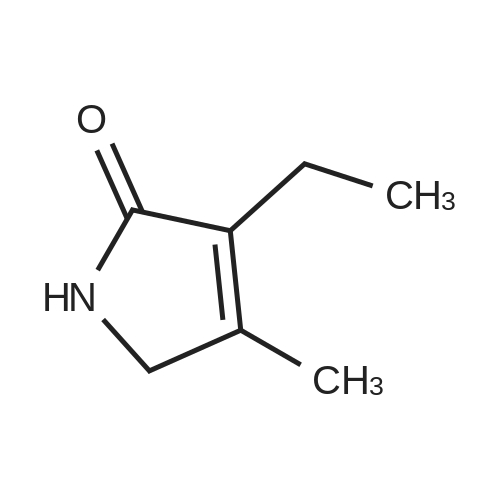 3-Ethyl-4-methyl-2,5-dihydro-1H-pyrrol-2-one