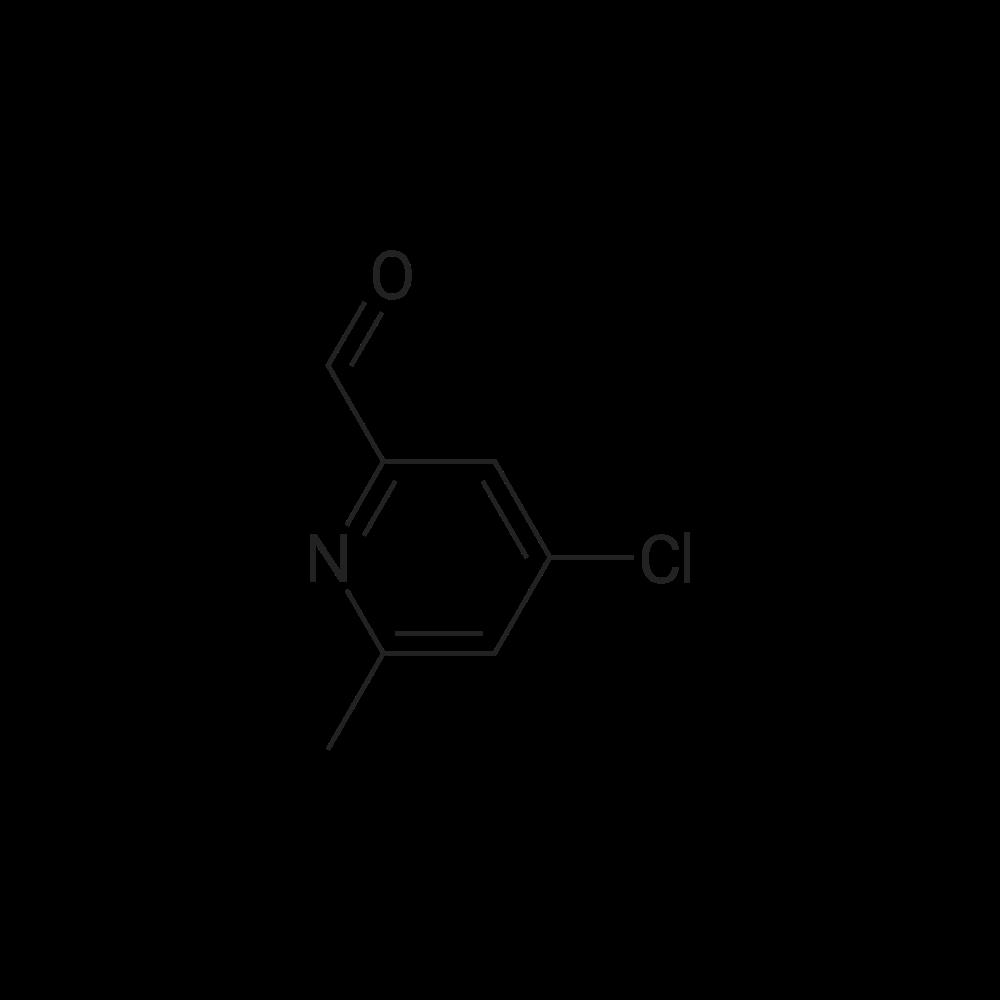 4-Chloro-6-methylpicolinaldehyde