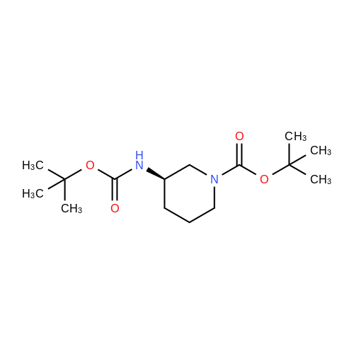 (R)-tert-Butyl 3-((tert-butoxycarbonyl)amino)piperidine-1-carboxylate