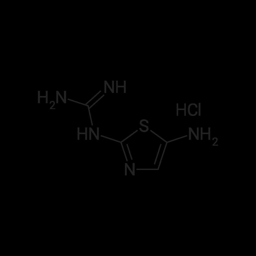 1-(5-Aminothiazol-2-yl)guanidine hydrochloride