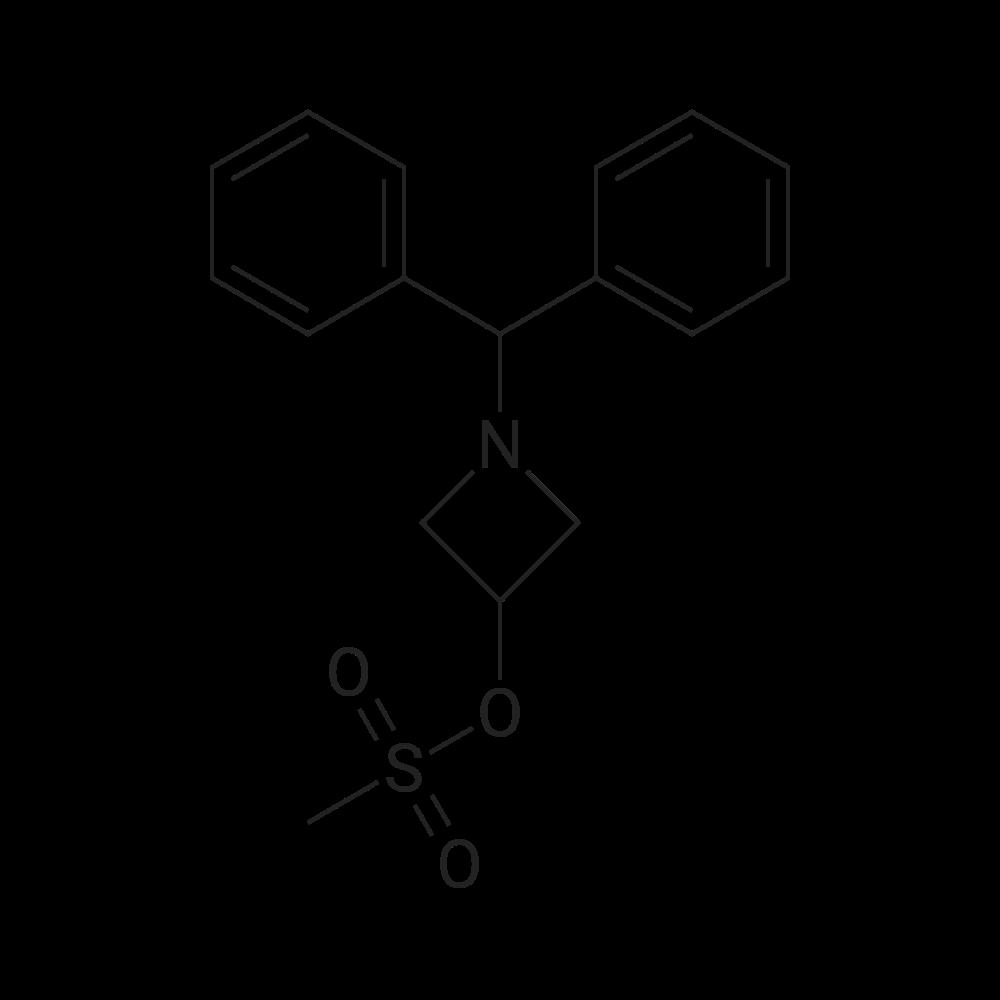 1-Benzhydrylazetidin-3-yl methanesulfonate