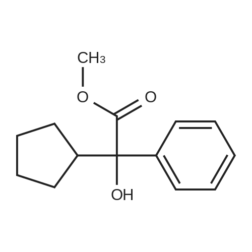Methyl 2-cyclopentyl-2-hydroxy-2-phenylacetate