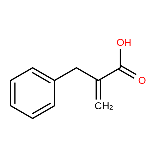 2-Benzylacrylic acid
