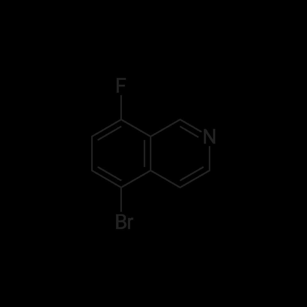 5-Bromo-8-fluoroisoquinoline