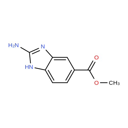 Methyl 2-amino-1H-benzo[d]imidazole-5-carboxylate