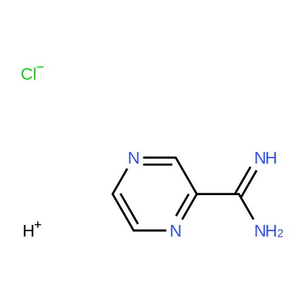 Pyrazine-2-carboximidamide hydrochloride