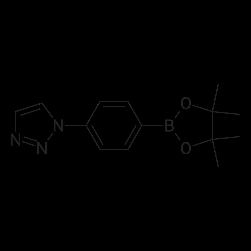 1-(4-(4,4,5,5-Tetramethyl-1,3,2-dioxaborolan-2-yl)phenyl)-1H-1,2,3-triazole