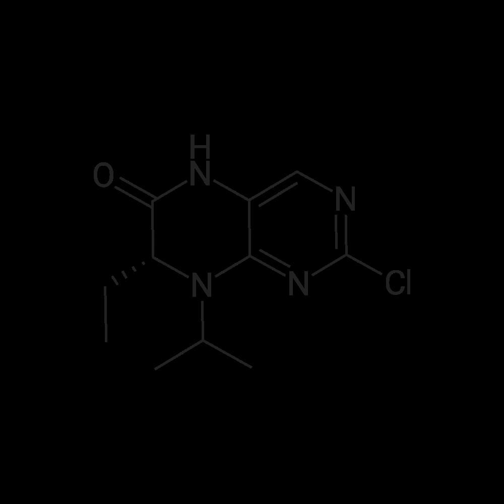 (R)-2-Chloro-7-ethyl-8-isopropyl-7,8-dihydropteridin-6(5H)-one