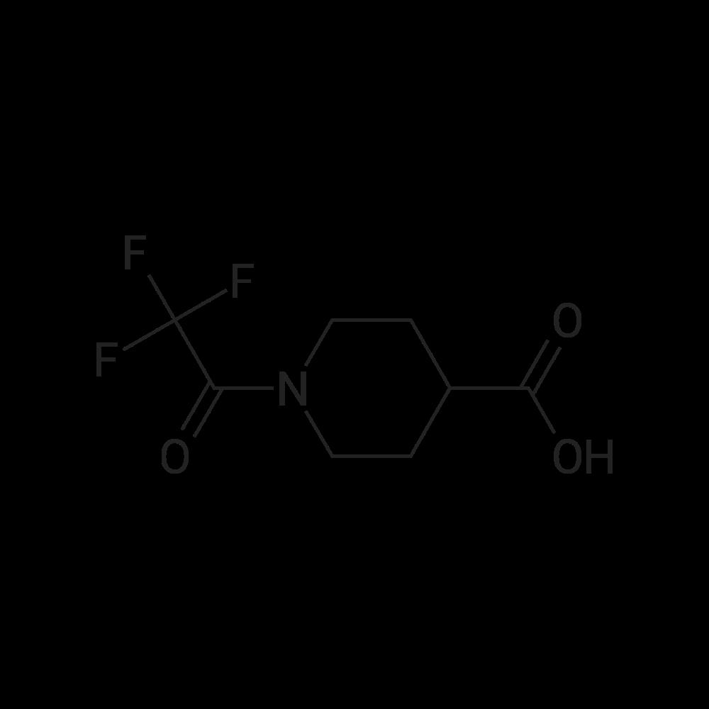 1-(2,2,2-Trifluoroacetyl)piperidine-4-carboxylic acid