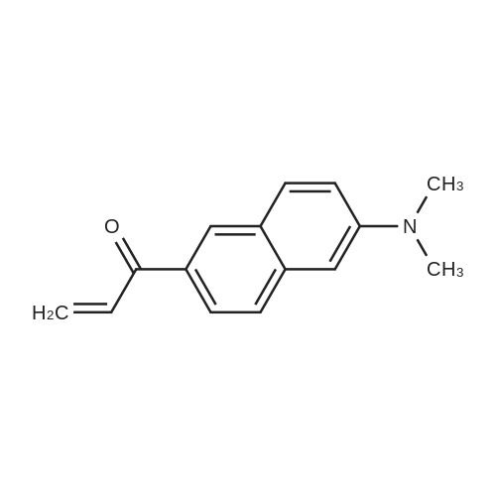1-(6-(Dimethylamino)naphthalen-2-yl)prop-2-en-1-one