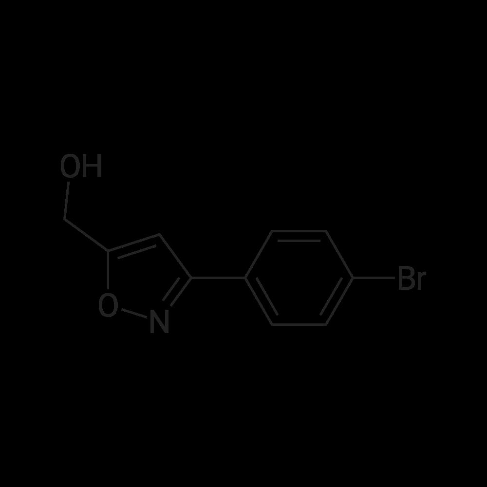 (3-(4-Bromophenyl)isoxazol-5-yl)methanol