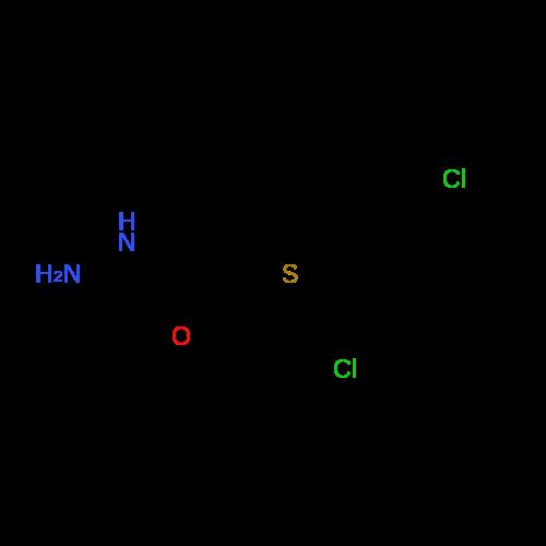 2-((2,6-Dichlorobenzyl)thio)acetohydrazide