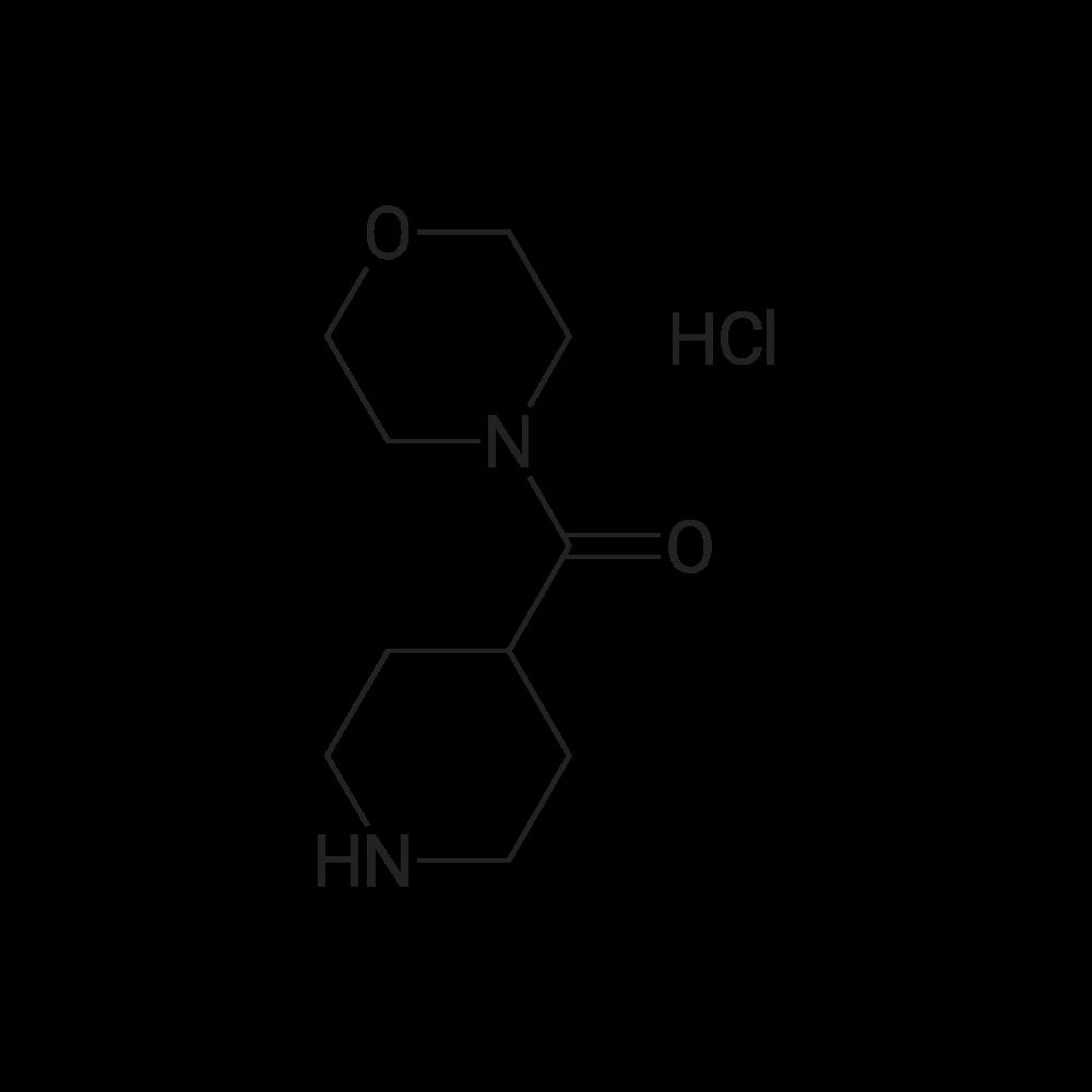 Morpholino(piperidin-4-yl)methanone hydrochloride