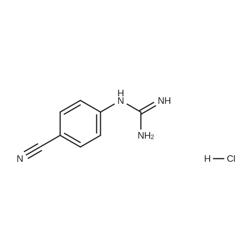 1-(4-Cyanophenyl)guanidine hydrochloride