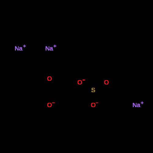 2-Propenoic acid, 2-methyl-, telomer with sodium sulfite (1:1), sodium salt