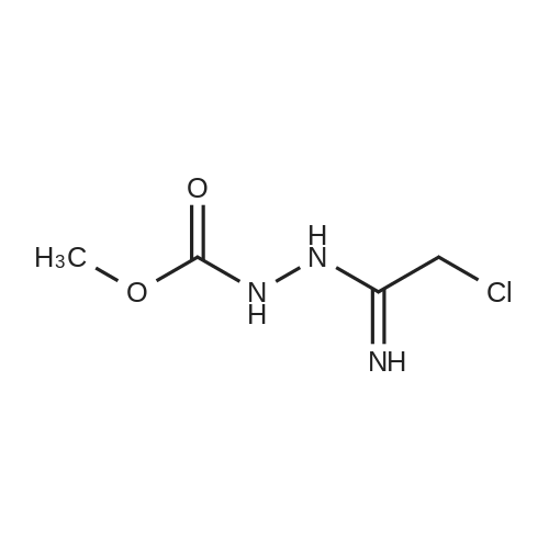 Methyl 2-(2-chloro-1-iminoethyl)hydrazinecarboxylate