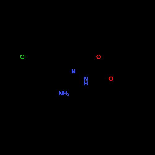 tert-Butyl 2-(1-amino-2-(2-chlorophenyl)ethylidene)hydrazinecarboxylate