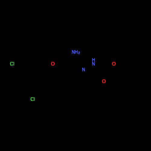 tert-Butyl 2-(1-amino-2-(3,5-dichlorophenoxy)ethylidene)hydrazinecarboxylate