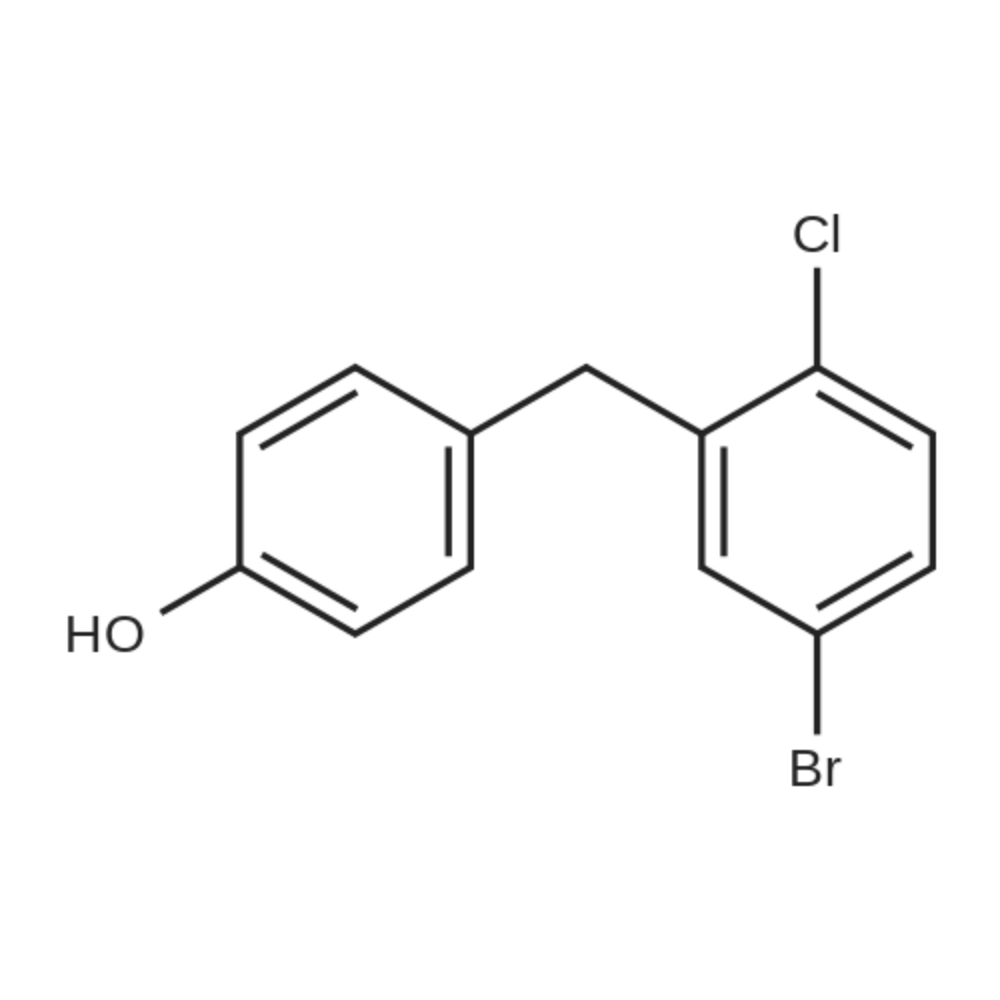 4-(5-Bromo-2-chlorobenzyl)phenol
