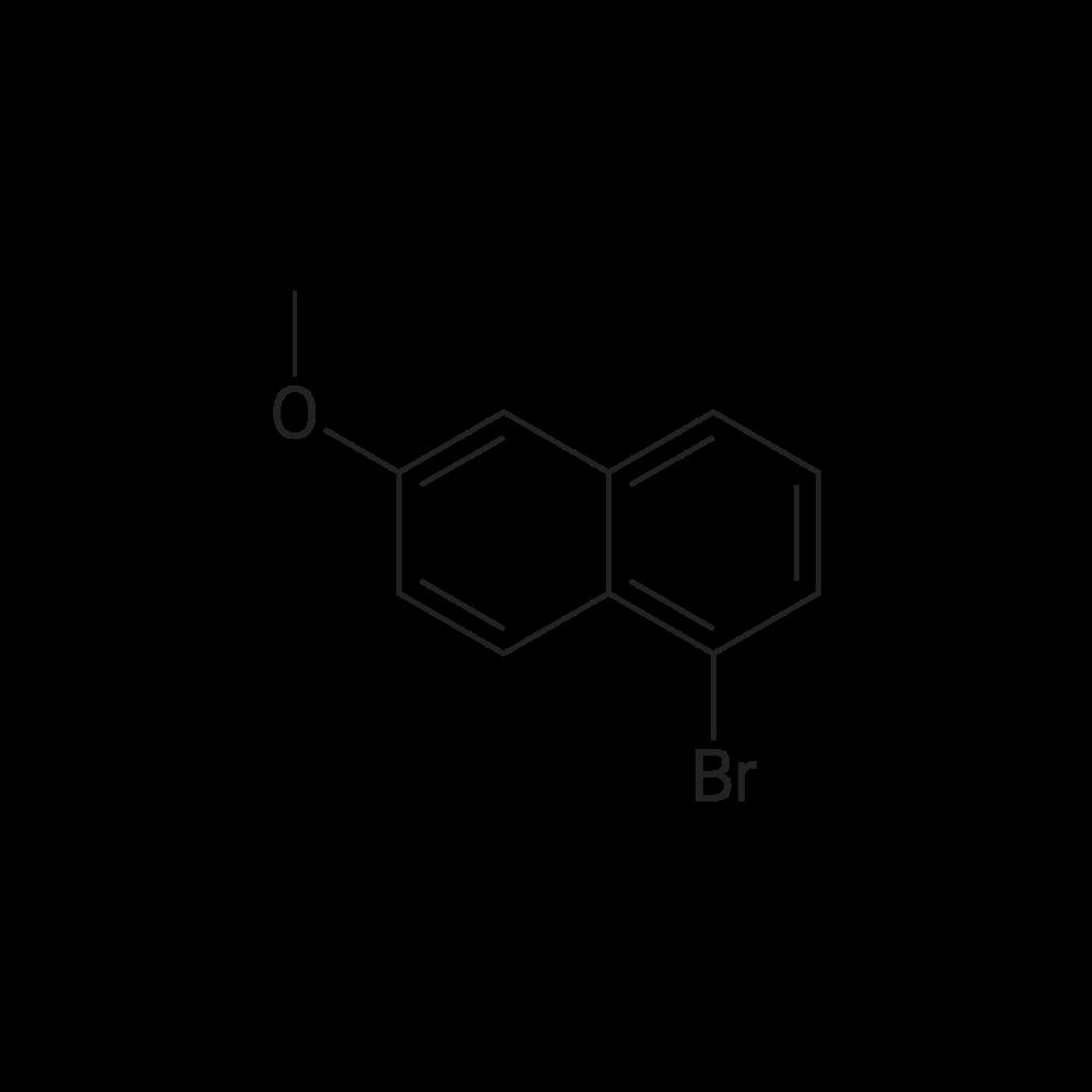 1-Bromo-6-methoxynaphthalene