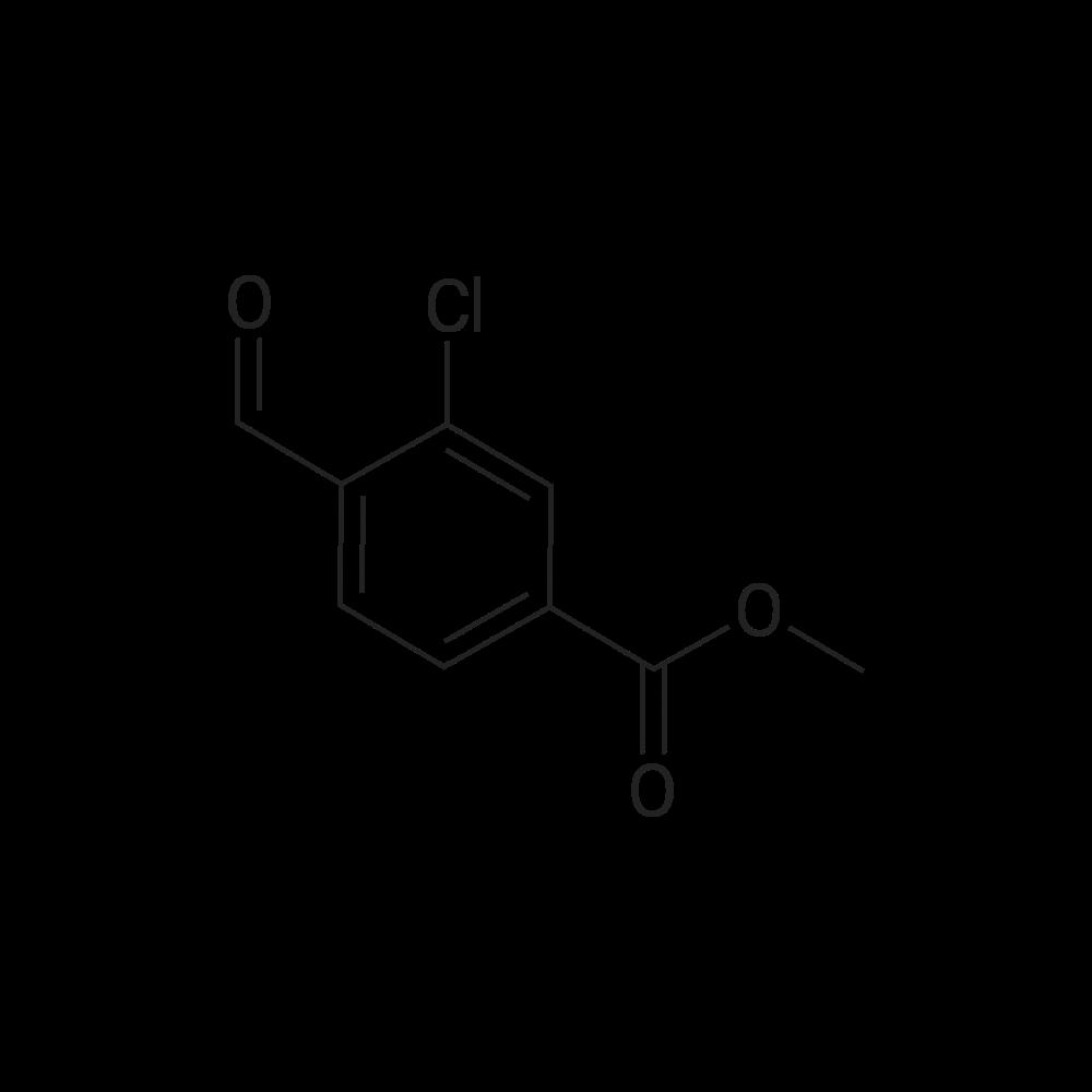 Methyl 3-chloro-4-formylbenzoate