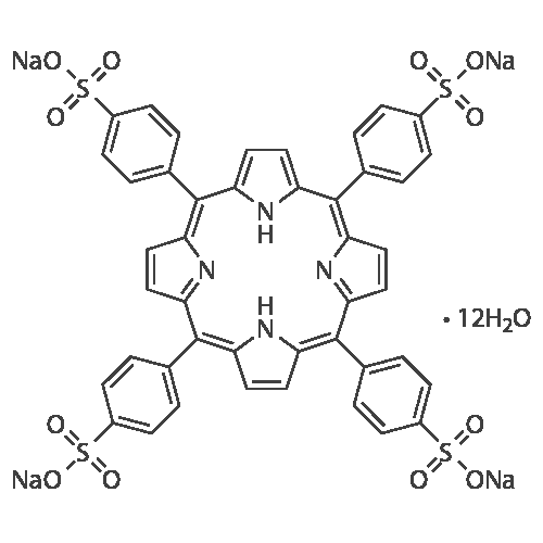 4,4',4'',4'''-(Porphine-5,10,15,20-tetrayl)tetrakis(benzene-sulfonic acid) tetrasodium salt dodecahydrate