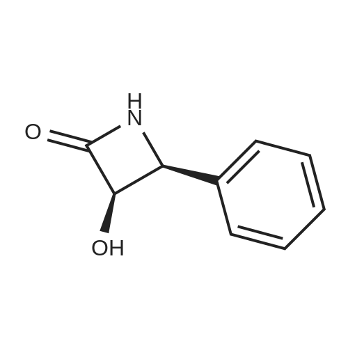 (3R,4S)-3-Hydroxy-4-phenylazetidin-2-one
