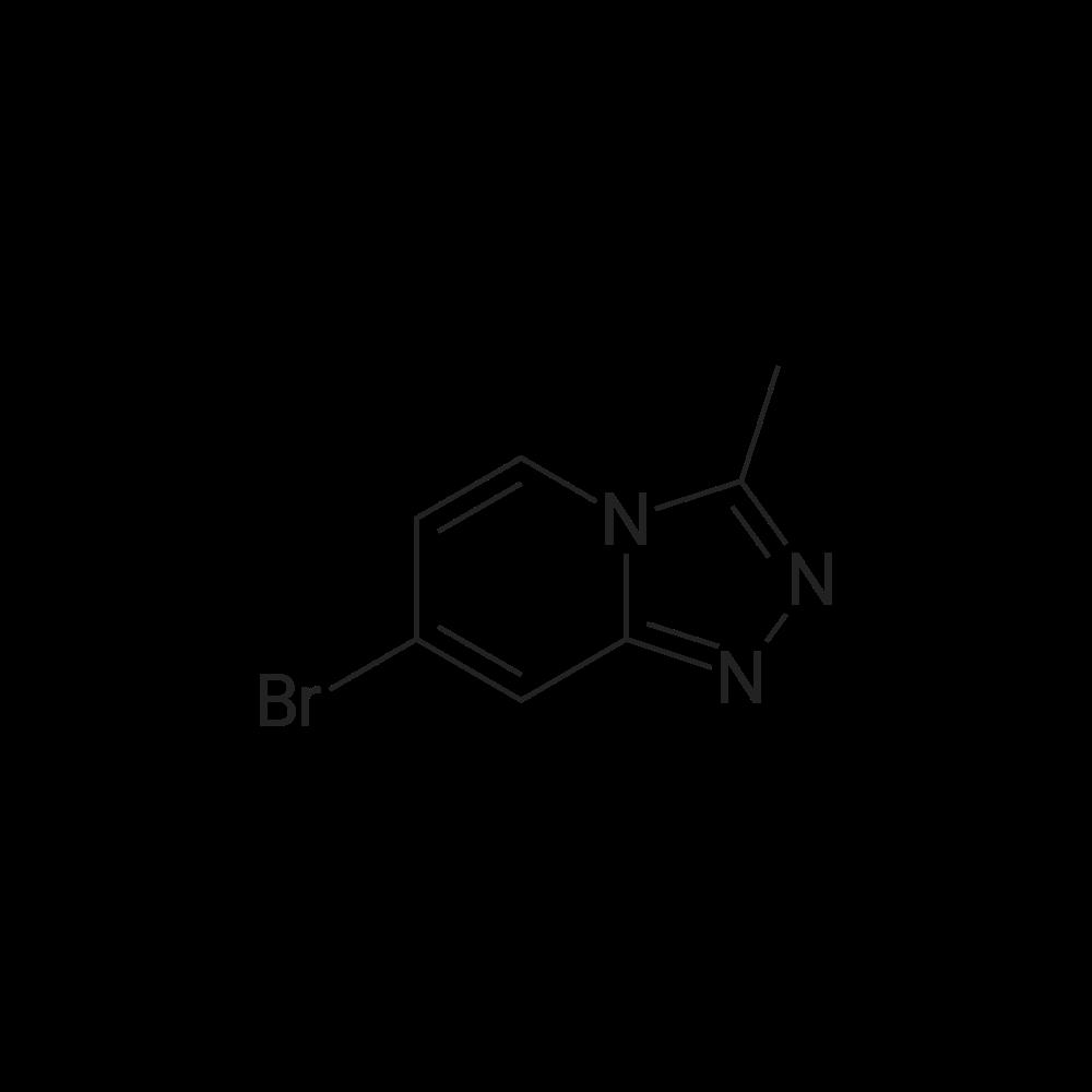 7-Bromo-3-methyl-[1,2,4]triazolo[4,3-a]pyridine