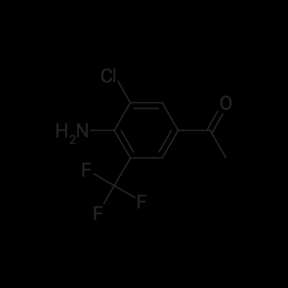 1-(4-Amino-3-chloro-5-(trifluoromethyl)phenyl)ethanone