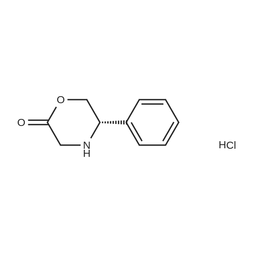 (S)-5-Phenylmorpholin-2-one hydrochloride