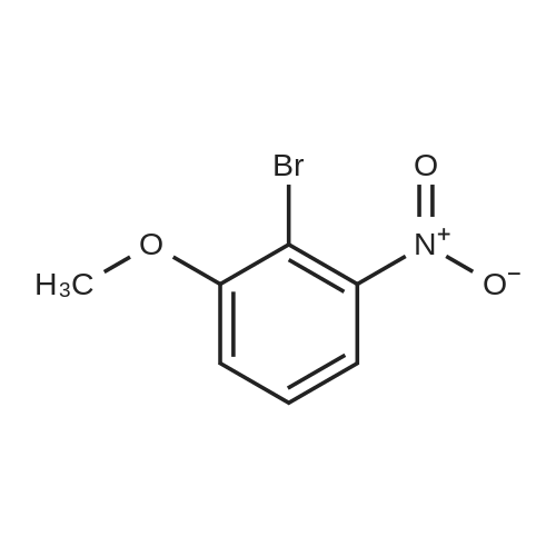2-Bromo-1-methoxy-3-nitrobenzene
