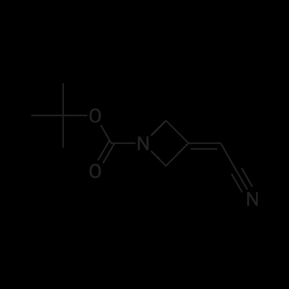 tert-Butyl 3-(cyanomethylene)azetidine-1-carboxylate