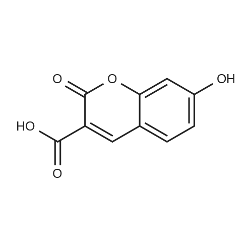 7-Hydroxy-2-oxo-2H-chromene-3-carboxylic acid