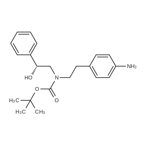 (R)-tert-Butyl 4-aminophenethyl(2-hydroxy-2-phenylethyl)carbamate