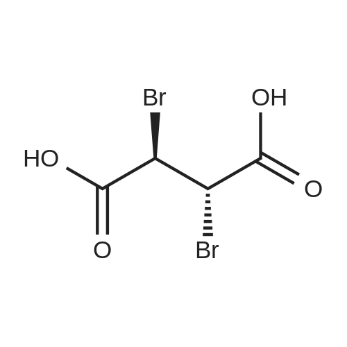 (2R,3S)-rel-2,3-Dibromosuccinic acid