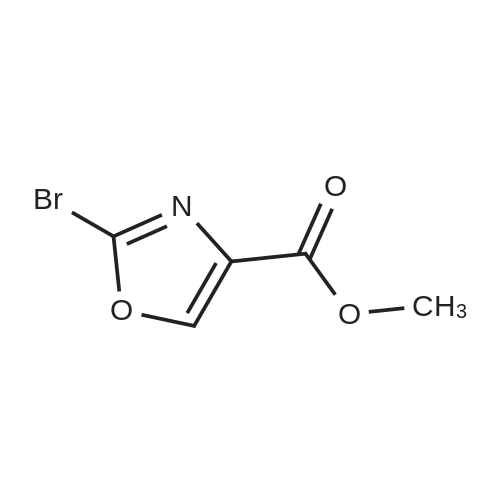 Methyl 2-bromo-4-oxazolecarboxylate