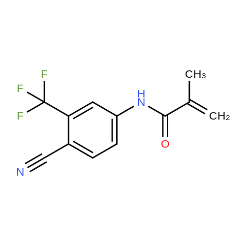 N-(4-Cyano-3-(trifluoromethyl)phenyl)methacrylamide