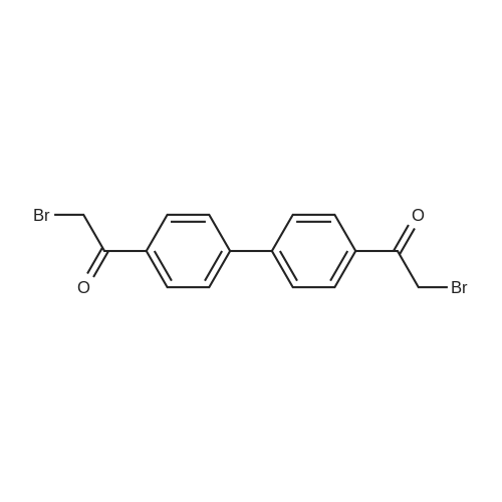 1,1'-([1,1'-Biphenyl]-4,4'-diyl)bis(2-bromoethanone)