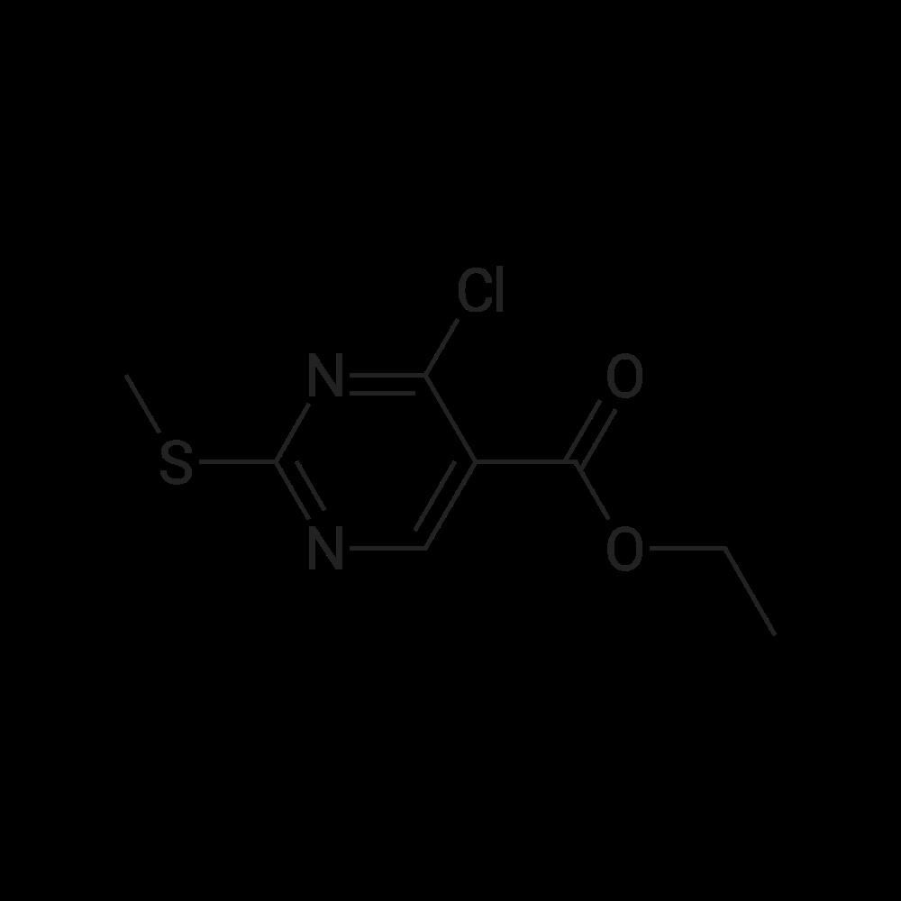 Ethyl 4-chloro-2-(methylthio)pyrimidine-5-carboxylate
